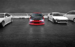 Wallpaper auto, Parking, Silvia, Nissan