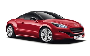 Picture white background, Peugeot, Red, RCZ, Peugeot