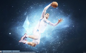 Picture basketball, flying, NBA, Los Angeles Clippers, shine, Blake Griffin, slamdunk