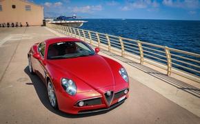 Picture Alfa Romeo, Competition, 8C