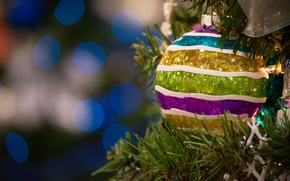 Picture toy, ball, tree, decoration