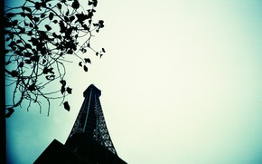 Wallpaper Paris, the sky, tower