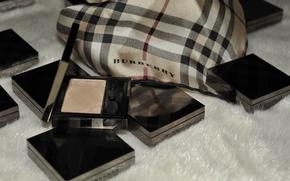 Picture shadows, cosmetics, brand, powder, Burberry