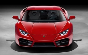 Picture Red, Voitur, Lambo, Lamborghini, Huracan, FAS, Hurakan