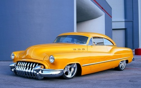 Wallpaper Yellow, Buick, Custom