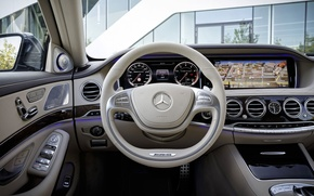 Picture panel, concept, the wheel, salon, Mercedes-Benz