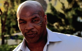 Picture tattoo, boxer, mike tyson, Mike Tyson