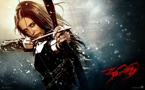 Picture bow, arrow, Eva green, 300 Spartans: rise of an Empire, 300: rise of an empire, …