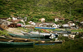 Picture landscape, mountains, nature, boats, beautiful, Montenegro, montenegro, Skadar lake