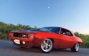 Picture Chevrolet, red, camaro, z28