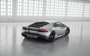 Picture Lucifer, Silver, Silver, Lamborghini, Lamborghini, Supercar, Tuning, Wheelsandmore, Rear, Supercar, Ass, Tuning, Huracan, Huracan, LP850-4