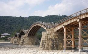 Picture wallpaper, bridge, building