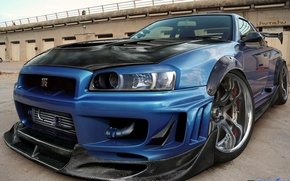 Picture tuning, carbon, supercars, Nissan GT-R