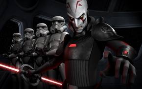 Picture Empire, animated series, The Inquisitor, Star wars: Rebels, Grand Inquisitor, Star Wars Rebels