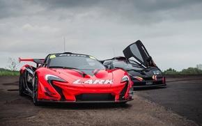 Picture overcast, GTR, supercars, Longtail, McLaren F1, McLaren P1