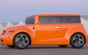 Picture concept, scion, minivan
