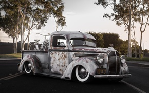Picture Ford, retro, old, Bagged