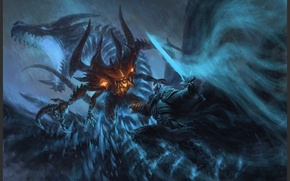 Picture Heroes of the Storm, blizzard, warcraft, diablo, arthas, lich king