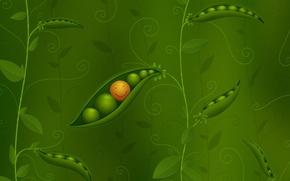 Wallpaper style, background, figure, polka dot, smile, peas, vlad