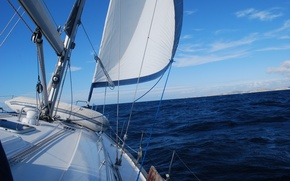 Picture sea, mood, the way, yacht