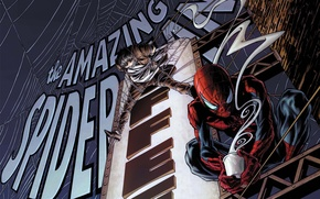 Picture web, couples, Cup, cafe, sign, Marvel, comic, comics, Spider-Man, Spider-Man, Marvel
