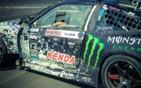 Picture airbrushing, Drift, monster, Kenda