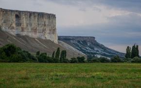 Picture Summer, Russia, Crimea, White rock