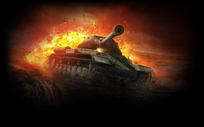Picture Tank, WoT, World of Tanks, Is-4
