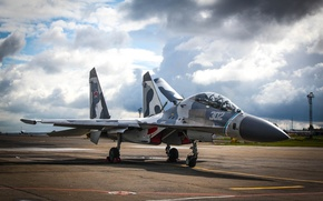 Picture the sky, fighter, Sukhoi, Su-27, su-27сухой