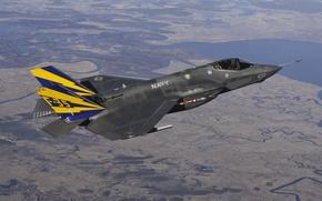Picture fighter, bomber, Lightning II, F-35C
