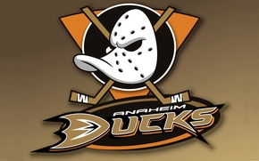 Picture The game, Sport, Background, Mask, Logo, NHL, Hockey, Stick, Anaheim Ducks