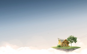 Picture the sky, fantasy, House