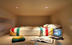 Picture bed, album, macbook