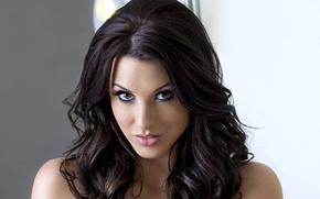 Picture brunette, girl, sexy, Alice Goodwin