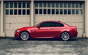 Wallpaper red, BMW, BMW, red, E92