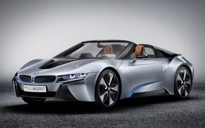 Picture background, bmw, BMW, concept, the concept, supercar, the front, spider, spyder, ай8