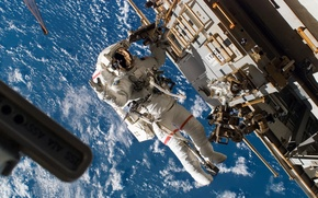 Picture nasa, astronaut, ISS, space