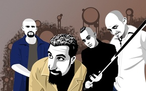 Picture group, music, celebrity, Rock, alternative metal, musicians, soad, System of a down