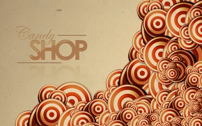 Wallpaper circles, abstraction, strip, the inscription, patterns, lines, words, stripes, circles, patterns, lines, words, abstraction, lettering, ...
