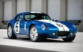 Picture Shelby, Daytona, White, Stripes, Superformance