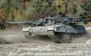 Wallpaper maneuvers, tank, combat, Leopard 2