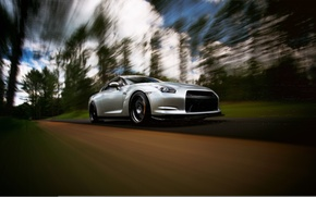 Picture GTR, Nissan, wheels, sports car, Nissan, stance