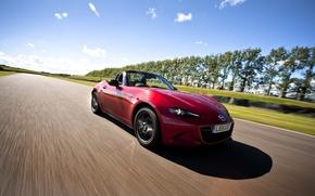 Picture Mazda, Mazda, UK-spec, MX-5, 2015