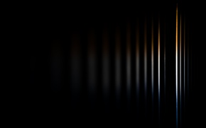 Picture color, rays, light, line, strips, abstraction, strip, background, black