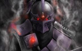 Picture smoke, cyborg, smoke, mortal Kombat, terrible, mortal kombat, cyborg