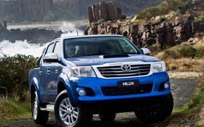 Picture Nature, Road, Mountains, Blue, Japan, Australia, Wallpaper, Japan, Toyota, Car, Pickup, Auto, Hilux, Wallpapers, Australia, …
