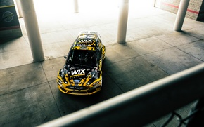 Picture Ford, Sun, Fiesta, Rallycross, 2015, Ligth