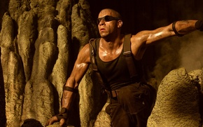 Picture dirty, man, bald, male, actor, The Chronicles of Riddick, The Chronicles Of Riddick, Director, vin …