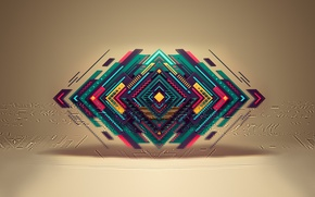 Picture background, form, geometry, triangle