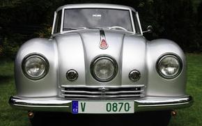 Picture old, Tatra, beautiful car